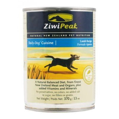ZiwiPeak Dog Lamb Burkar 12 x 370 g