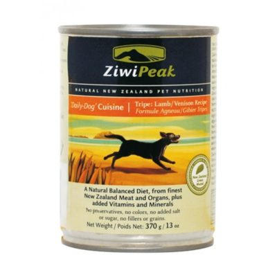 ZiwiPeak Dog Lamb & Venison Burkar 12 x 370 g